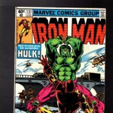 Cómics: IRON MAN 131 - MARVEL 1980 VG / IRON MAN & ANT-MAN VS HULK !. Lote 176094013