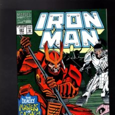 Cómics: IRON MAN 281 # MARVEL 1992 VFN / 1ST WAR MACHINE ARMOR. Lote 176096700