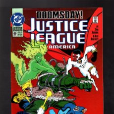 Cómics: JUSTICE LEAGUE AMERICA / INTERNATIONAL 69 # DC 1992 VFN/NM / DOOMSDAY / DEATH OF SUPERMAN. Lote 176255189