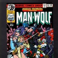Cómics: MARVEL PREMIERE 46 # 1979 VFN / MAN-WOLF / DAVID KRAFT & GEORGE PEREZ. Lote 176271777