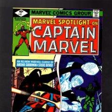 Cómics: MARVEL SPOTLIGHT 4 CAPTAIN MARVEL # 1980 VFN / ARCHIE GOODWIN & STEVE DITKO. Lote 176273520