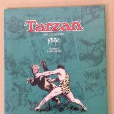 Cómics: TARZAN IN COLOR H. FOSTER 4 TOMOS. Lote 176514084