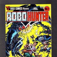 Cómics: ROBO-HUNTER 1 SAM SLADE # EAGLE 1984 VFN/NM. Lote 176751004