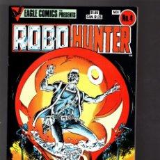Cómics: ROBO-HUNTER 4 SAM SLADE - EAGLE 1984 VFN+. Lote 176751409