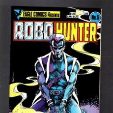 Cómics: ROBO-HUNTER 5 SAM SLADE - EAGLE 1985 VFN+. Lote 176751517