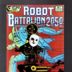 Cómics: ROBOT BATTALION 2050 1 - ECLIPSE 1988 VFN. Lote 176751825