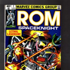 Cómics: ROM SPACEKNIGHT 2 # MARVEL 1980 VFN+ / BILL MANTLO & SAL BUSCEMA. Lote 176754447