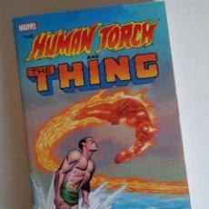 Comics : HUMAN TORCH AND THING. COLECCIÓN COMPLETA DE SU SERIE EN STRANGE TALES. NUEVO. OCASIÓN. Lote 176882682