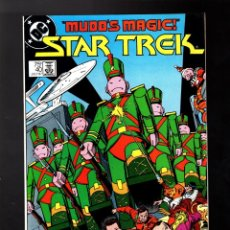 Cómics: STAR TREK 40 - DC 1987 FN/VFN / THE RETURN OF HARRY MUDD. Lote 176926797