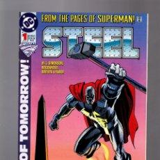 Cómics: STEEL 1 # DC 1994 VFN/NM. Lote 176958108