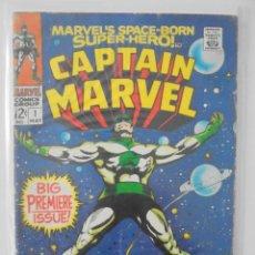 Cómics: CAPTAIN MARVEL # 1, 6 Y 8 (1968). Lote 176959029