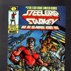 Cómics: STEELGRIP STARKEY 2 - MARVEL EPIC 1986 VFN / ALAN WEISS. Lote 176959973
