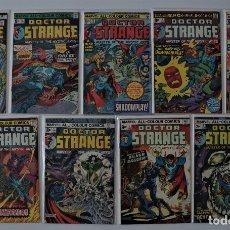 Cómics: 9 CÓMICS DE DOCTOR STRANGE (1974/76). Lote 177052217