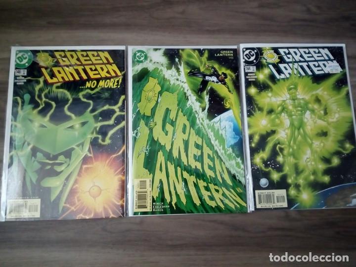 DC. GREEN LANTERN VOL.2 NUMEROS 144 AL 146. WINICK Y EAGLESHAM (Tebeos y Comics - Comics Lengua Extranjera - Comics USA)