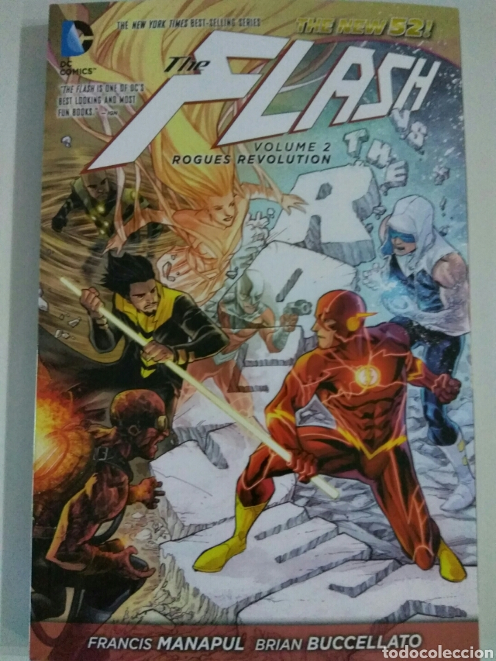 LIBRO CÓMIC THE FLASH VOL 2 ROGUES REVOLUTION DC COMICS (Tebeos y Comics - Comics Lengua Extranjera - Comics USA)