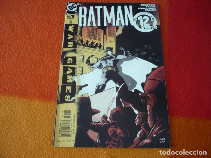 BATMAN THE 12C ADVENTURE WAR GAMES ( GRAYSON BACHS ) ( EN INGLES ) ¡MUY BUEN ESTADO! USA DC 2004 (Tebeos y Comics - Comics Lengua Extranjera - Comics USA)