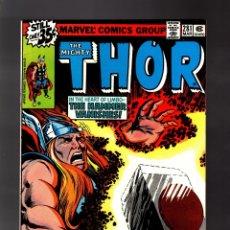 Cómics: THOR 281 - MARVEL 1979 VFN- / GRUENWALD & POLLARD. Lote 177284438