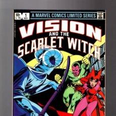 Cómics: VISION AND THE SCARLET WITCH 1 - MARVEL 1982 VFN / BILL MANTLO & RICK LEONARDI / 1ª SERIE PROPIA. Lote 177701864