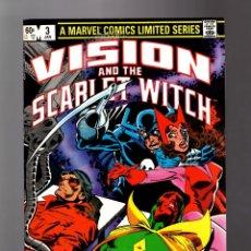 Cómics: VISION AND THE SCARLET WITCH 3 - MARVEL 1982 VFN / BILL MANTLO & RICK LEONARDI / WONDER MAN. Lote 177702340