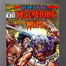 Cómics: WHAT IF 62 WOLVERINE BATTLED WEAPON X ? - MARVEL 1994 VFN/NM. Lote 177712509