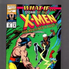 Cómics: WHAT IF 40 - MARVEL 1992 VFN- / STORM HAD REMAINED A THIEF ? X-MEN. Lote 177882152