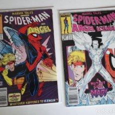 Cómics: MARVEL TALES, DOS NÚMEROS CON LA CONCLUSIÓN DE THE CHAMPIONS APARECIDA EN SPECTACULAR SPIDER-MAN. Lote 178048297