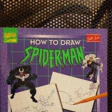 Cómics: HOW TO DRAW SPIDER-MAN (SPIDERMAN) - ED. WALTER FOSTER - ALEX SAVIUK - BOB MCLEOD. Lote 178114317