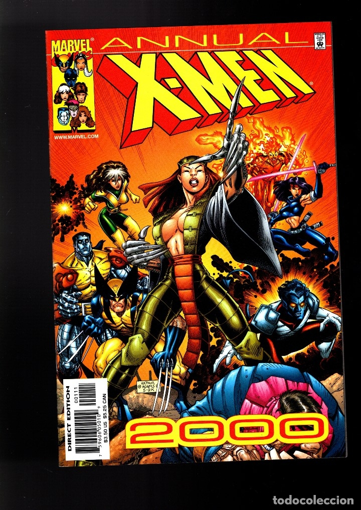 X-MEN ANNUAL 2000 - MARVEL VFN/NM (Tebeos y Comics - Comics Lengua Extranjera - Comics USA)