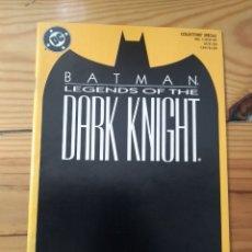 Cómics: BATMAN LEGENDS OF THE DARK KNIGHT # 1 - ÓPTIMO ESTADO D3. Lote 178715560
