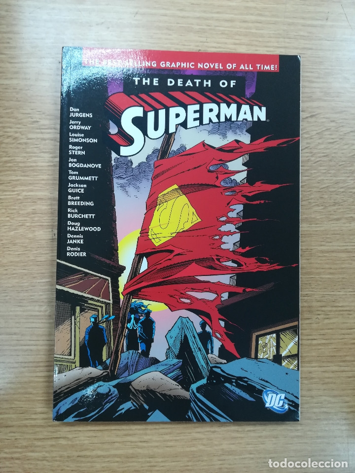THE DEATH OF SUPERMAN TPB (Tebeos y Comics - Comics Lengua Extranjera - Comics USA)