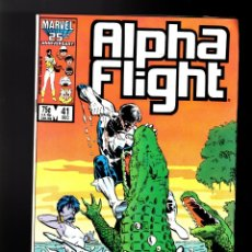 Cómics: ALPHA FLIGHT 41 - MARVEL 1986 FN+. Lote 178809598