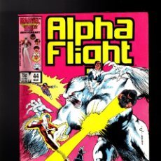 Cómics: ALPHA FLIGHT 44 - MARVEL 1987 FN-. Lote 178809690