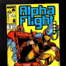 Cómics: ALPHA FLIGHT 53 - MARVEL 1987 VG/FN / WOLVERINE / SEGUNDO COMIC DE JIM LEE EN MARVEL !. Lote 178811050