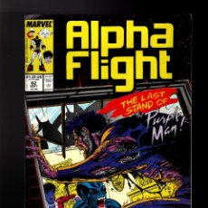 Cómics: ALPHA FLIGHT 62 - MARVEL 1988 FN/VFN / JIM LEE. Lote 178811252