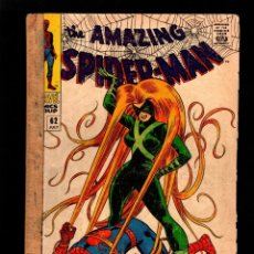Cómics: AMAZING SPIDER-MAN 62 - MARVEL 1968 FR/GD / STAN LEE & JOHN ROMITA / VS MEDUSA !. Lote 178835518