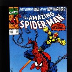 Cómics: AMAZING SPIDER-MAN 352 - MARVEL 1990 VFN/NM / DAVID MICHELINIE & MARK BAGLEY / NOVA. Lote 178837178