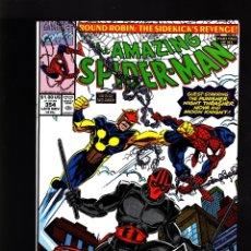 Cómics: AMAZING SPIDER-MAN 354 - MARVEL 1990 VFN+ / AL MILGROM & MARK BAGLEY / NOVA / NIGHT TRASHER. Lote 178837325