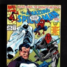 Cómics: AMAZING SPIDER-MAN 355 - MARVEL 1990 VFN/NM / AL MILGROM & MARK BAGLEY / MOON KNIGHT / PUNISHER. Lote 178837417