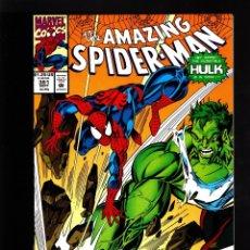 Cómics: AMAZING SPIDER-MAN 381 - MARVEL 1993 NM / MICHELINIE & BAGLEY / VS HULK. Lote 178839018