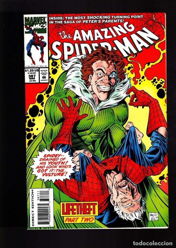 AMAZING SPIDER-MAN 387 MARVEL 1994 NM / MICHELINIE & BAGLEY (Tebeos y Comics - Comics Lengua Extranjera - Comics USA)