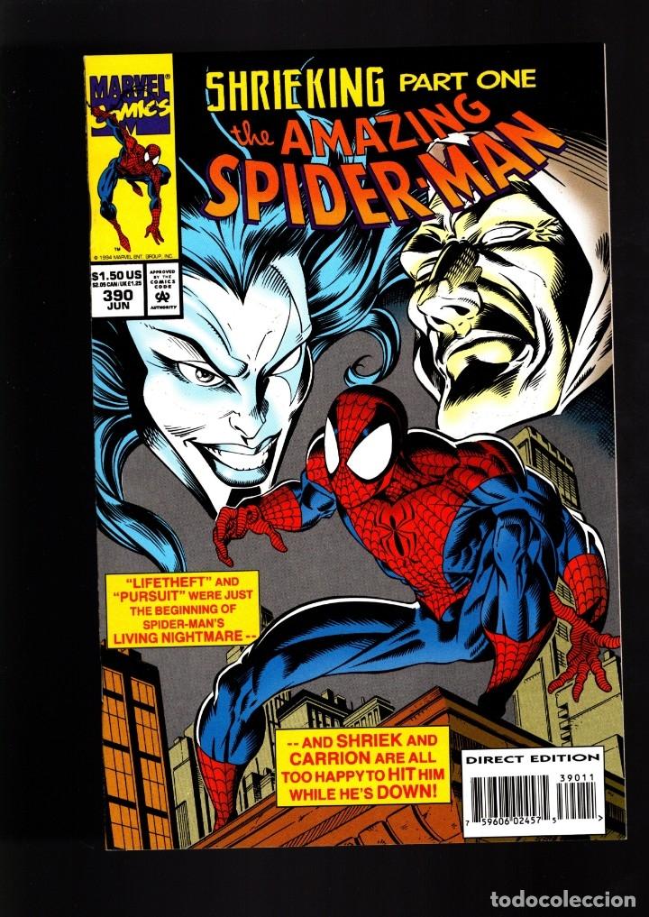 AMAZING SPIDER-MAN 390 - MARVEL 1994 NM / DEMATTEIS & BAGLEY (Tebeos y Comics - Comics Lengua Extranjera - Comics USA)