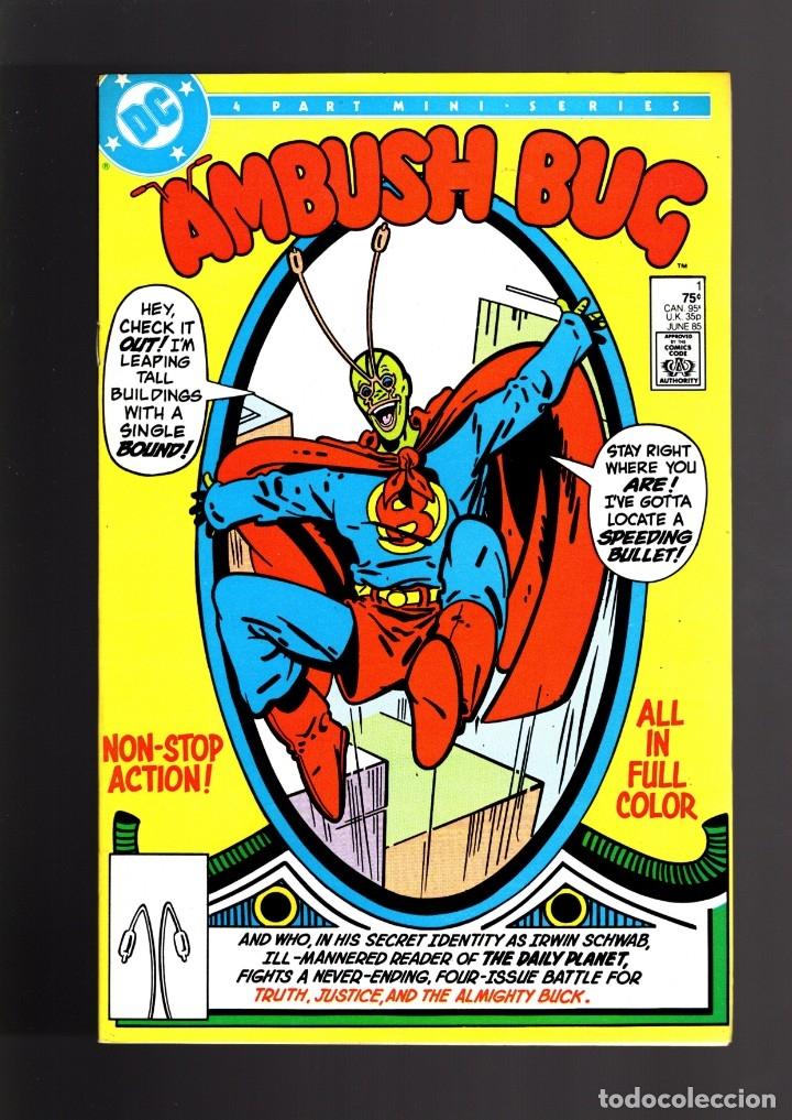 AMBUSH BUG 1 - DC 1985 VFN/NM (Tebeos y Comics - Comics Lengua Extranjera - Comics USA)