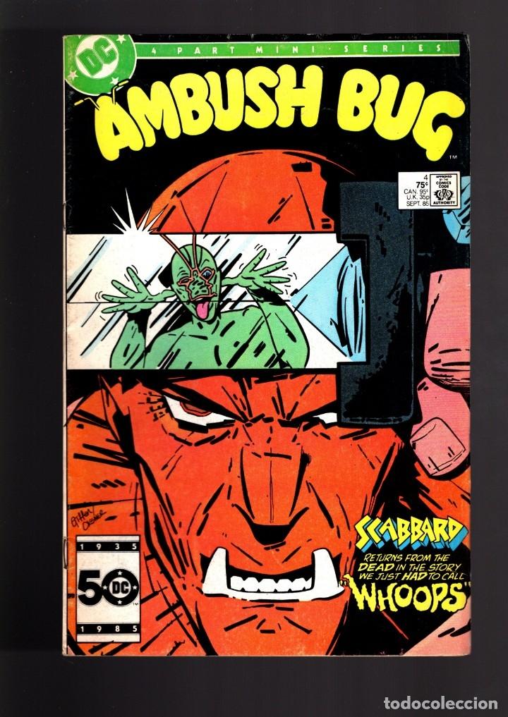 AMBUSH BUG 4 - DC 1985 VG/FN (Tebeos y Comics - Comics Lengua Extranjera - Comics USA)