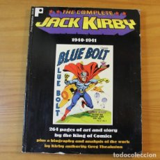 Comics: THE COMPLETE JACK KIRBY 1940-1941. 264 PGS. TEXTOS EN INGLES PURE IMAGINATION 1997. Lote 178995552