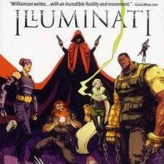 Cómics: ILLUMINATI: LIFE OF CRIME TPB MARVEL COMICS - JOSHUA WILLIAMSON SHAWN CRYSTAL 2016. Lote 179067485