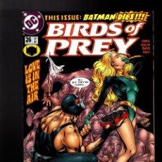 Cómics: BIRDS OF PREY 26 - DC 2001 VFN/NM / DIXON & GUICE / BANE. Lote 179191333