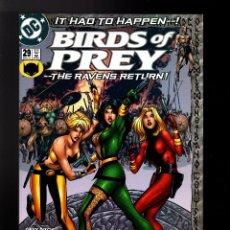 Cómics: BIRDS OF PREY 29 - DC 2001 VFN/NM / DIXON & GUICE. Lote 179191961