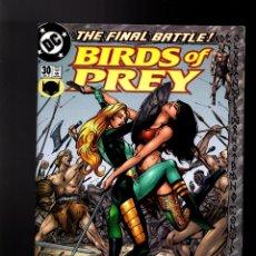Cómics: BIRDS OF PREY 30 - DC 2001 VFN/NM / DIXON & GUICE. Lote 179192133