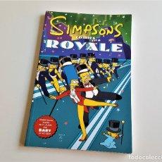 Cómics: SIMPSONS COMICS - ROYALE - 17 X 26.CM APROX. Lote 179309213