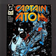 Cómics: CAPTAIN ATOM 36 - DC 1989 VFN-. Lote 179309658